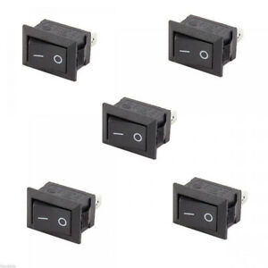 New-10Pcs-Car-Truck-Boat-Round-Rocker-12V-16A-2-Pin-ON-OFF-Toggle-SPST-Switches