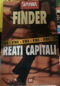 """JOSEPH FINDER  """"Reati capitali"""" LIBRO"""