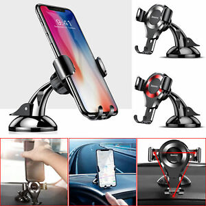 Baseus Gravity Car Phone Stand Sucker Suction Cup Mount Holder For Cellphone GPS
