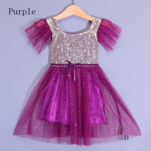 AU SELLER Girls Princess Party Pageant Bridesmaid Dance Tulle Tutu Dress gd013