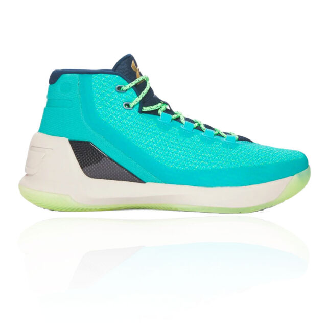 b28d0d63d384 Mens Under Armour Curry 3 Neptune Sable Metallic Gold 1269279-370 US ...