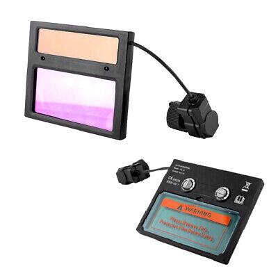Details about  /For Solar Auto Darkening Welding Helmet Lens Face Cover Plasma Cutting Machine