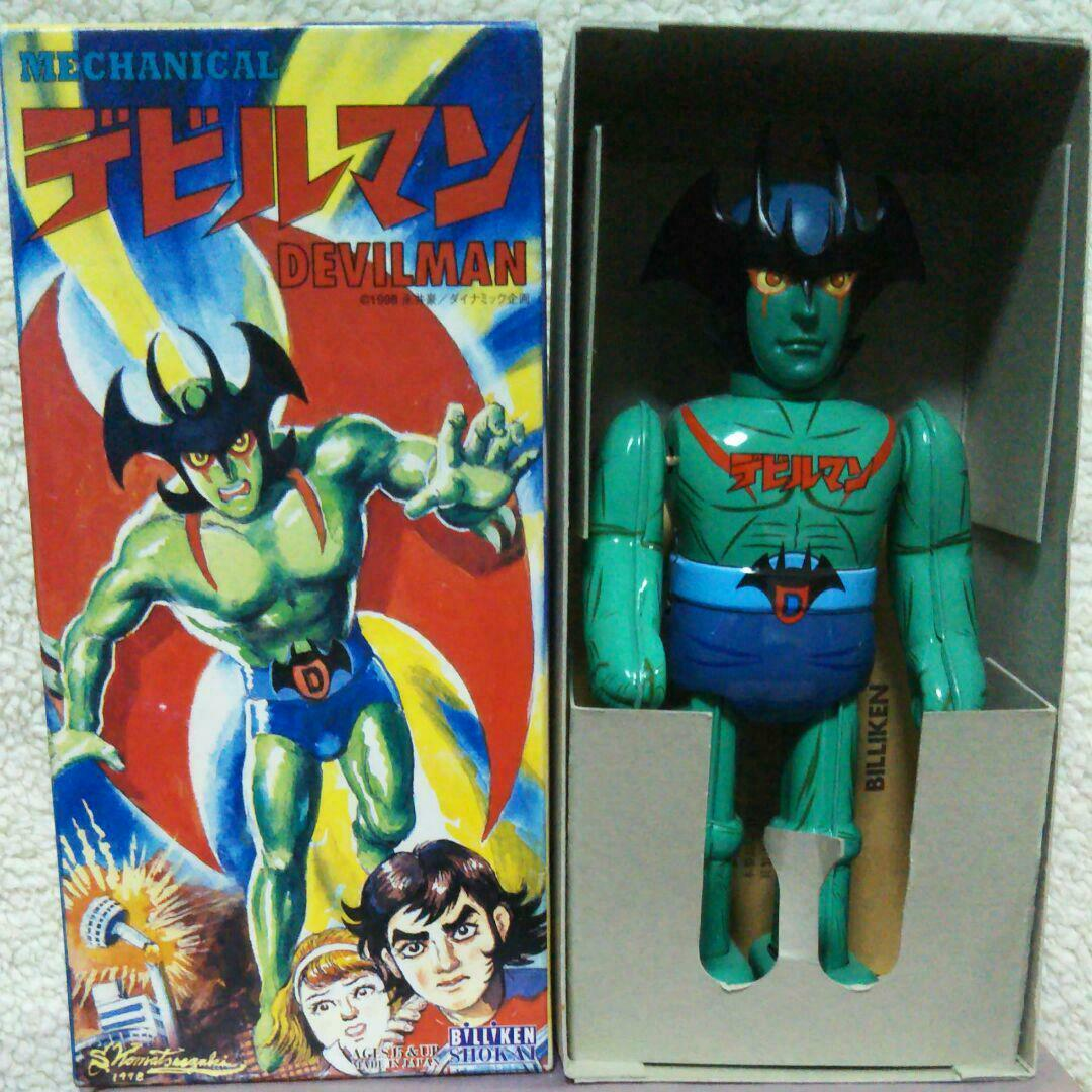 BILIKEN SHOKAI Devilman Tin Toy Unused Vintage Rare From From From JAPAN F S c145f1