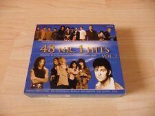 3 CD Box 48 Nr. 1 Hits Vol 2: Tina Charles Rick Astley Clout Carl Douglas Toto