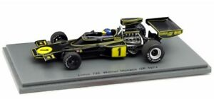 Lotus 72e    Nº 1 Ronnie Peterson 1974 Spark S4835 1:43 !!!  gp Monaco