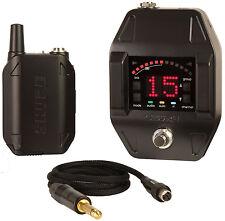 Shure GLXD16 Bodypack Wireless System with GLXD6 Guitar Pedal Receiver GLXD-16