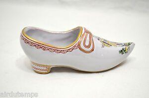 Shoes-Clog-Shoe-Earthenware-Ceramic-Painted-Dvv-Dvw-Dww-King-Sun-Long13cm