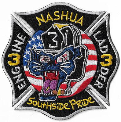 Nashua Nh Engine 3 Ladder Southside Pride Fire Patch Ebay