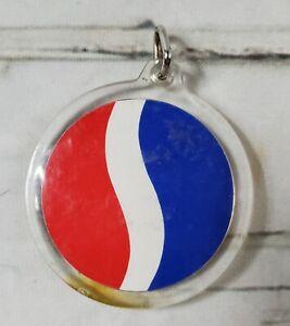 Vintage Pepsi Cola Soft Drink Logo Acrylic Keychain