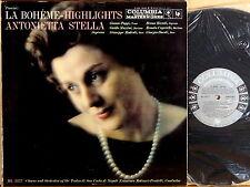 COLUMBIA 6-EYE Puccini ANTONIETTA STELLA La Boheme MOLINARI-PRADELLI ML-5377