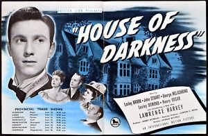HOUSE-OF-DARKNESS-1948-Laurence-Harvey-Lesley-Brook-John-Stuart-TRADE-ADVERT