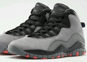 a0607843736afa Nike Air Jordan Retro 10 Cool Grey   Infrared - Black Size 12 NIB