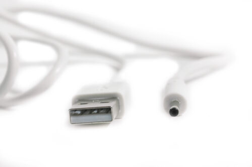 90cm USB White Cable for Motorola MBP160 MBP160PU Parent/'s Unit Baby Monitor