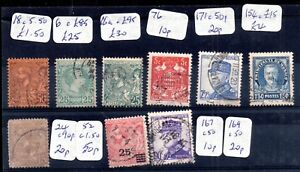 Monaco-used-catalogued-collection-Cat-Val-200-SG6-SG16A-etc-WS11680