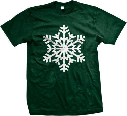 Snowflake Christmas Winter Pageant Holidays Seasonal Mens T-shirt