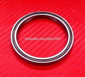 10pcs 6809-2RS (45x58x7 mm) Black Rubber Sealed Ball Bearing Bearings 6809RS