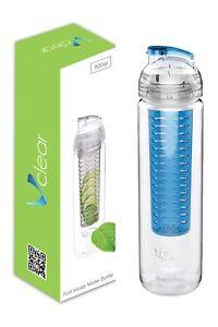 900ml Fruit Infuser Bottle Water Bottle WAREHOUSE CLEARANCE SALE