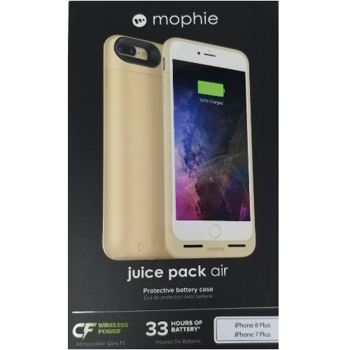 Mophie Juice Pack Air Battery For Iphone 7 Wireless Charging Case Gold For Sale Online Ebay Mophie iphone 8/7 copertura flex juice pack custodia/wireless caricabatterie compatibile. ebay