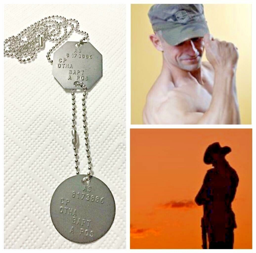 Details about GENUINE AUSTRALIAN ADF MILITARY BRASS DOG TAGS ANZAC ARMY  NAME ID+TIN+FREE TEXT