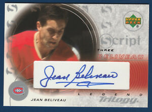 JEAN-BELIVEAU-03-04-UD-TRILOGY-CUSTOM-SCRIPT-LEGEND-2003-04-S3-JB-NRMINT-22163
