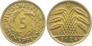 5 reichspfennig 1924,1925 and 1935 germany Coin  by coin_lovers