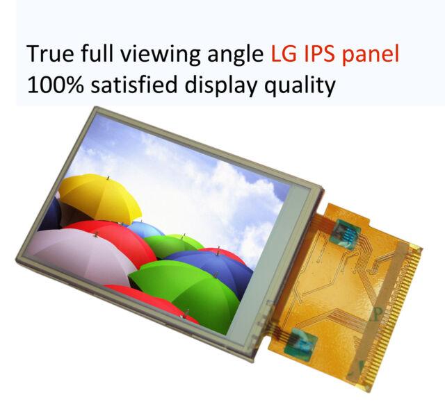 "2.8"" IPS LCD module 320x240 ILI9325 9328 wide view angle TFT arduino AVR STM32"