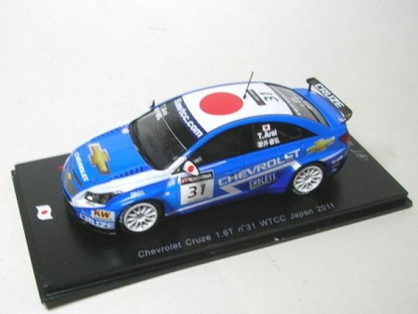 Chevrolet Cruze 1.6T no. 31 31 31 WTCC Japan 2011 c833cc