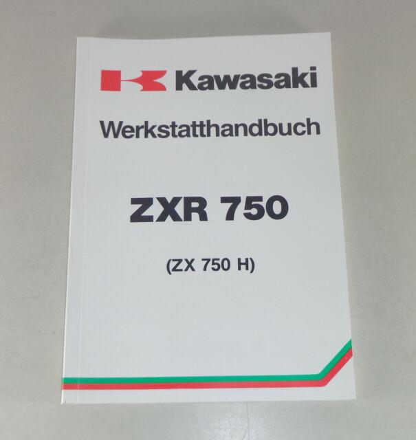 Werkstatthandbuch Workshop Manual Kawasaki Zxr 750 Von 1989 Ebay