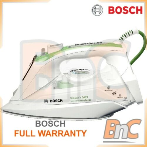 Bosch Fer À Vapeur En Céramique 2400 W automatique Bosch TDA 702421E Garantie