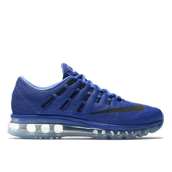 Nike Women's Air Max 2016 - UK 3 (EUR 36) - New bluee Chalk Clear 806772 401