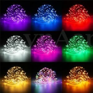 Image Is Loading 100 200 Led Micro Copper Wire Fairy String