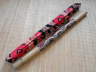 Herrlich Bemaltes Bambus Didgeridoo 120 Cm Cis Mit Tasche Dauerhafte Modellierung Didgeridoos Musikinstrumente