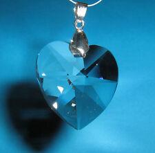 San Valentino Pendente Per Collana Swarovski Senza Logo Cuore mm 28 Cristallo