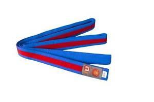 Ju-Sports Budo-Gürtel blau/rot/blau Karate, Judo, Ju-Jutsu, Taekwondo
