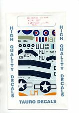 TAURO MODEL 48-533 - DECALS 1/48 P-47-M USAAF P-47-D THUNDERBOLT - NUOVO