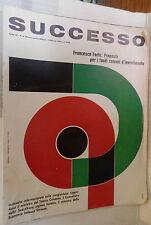 RIVISTA SUCCESSO 1969 Diesel o vapore Congiuntura Hovercraft Treni Tagliacarne