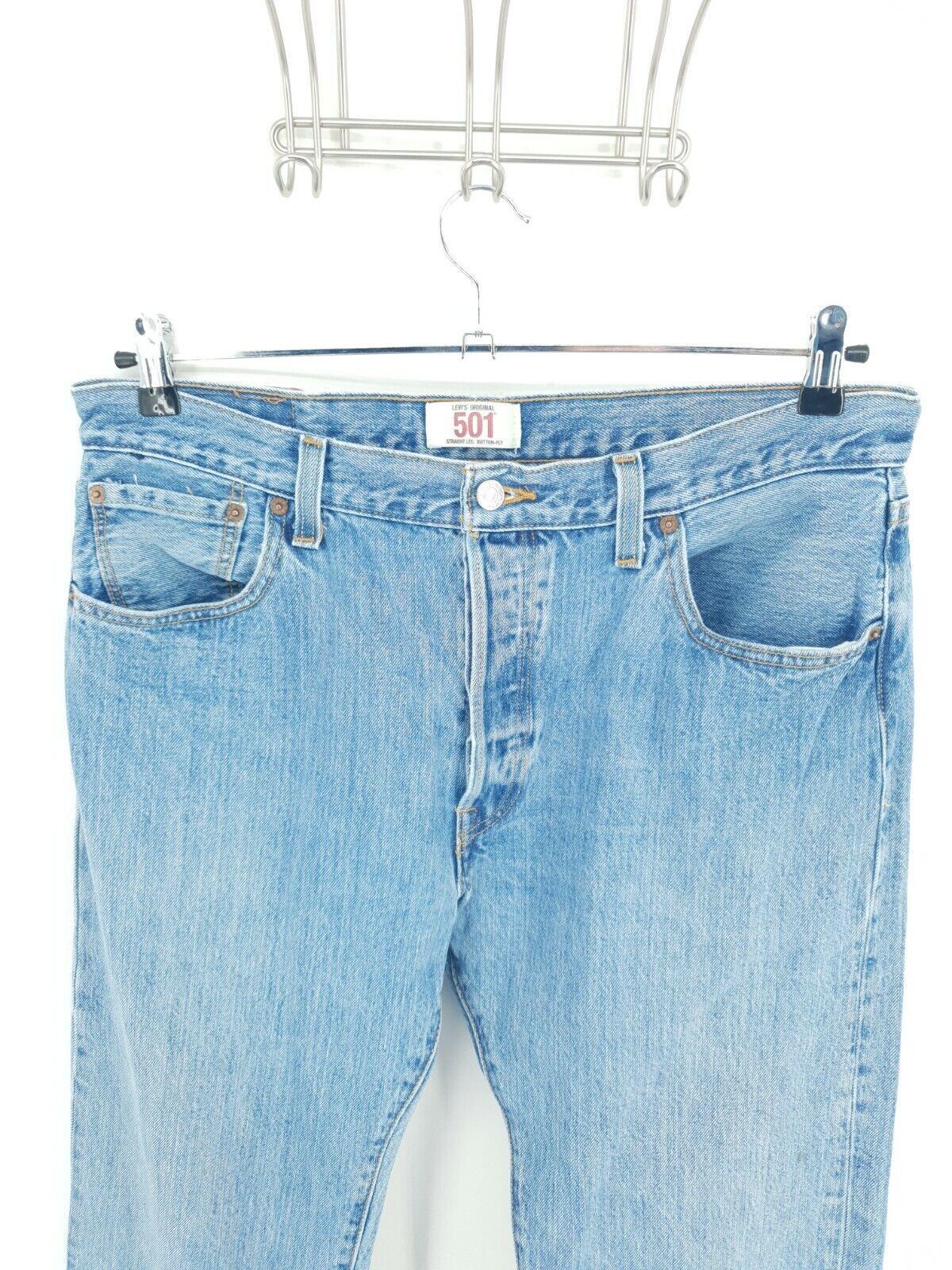 Vintage  Levis 501 XX Jeans Mens 36x30 Distressed… - image 2
