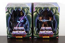 HE-MAN & SKELETOR 2.0 Filmation Masters of Universe Classics Club Grayskull MOTU