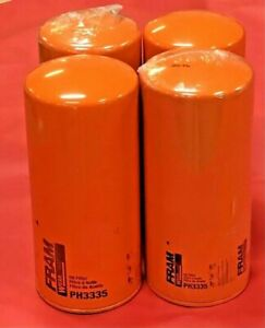 Lot of 4 Engine Oil Filters-Extra Guard Fram PH3335 for FORD,Advance Mixer