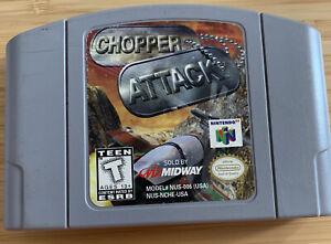 Chopper Attack-NTSC Nintendo 64 N64