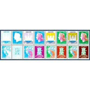 BANDE-HELIO-TIMBRES-POSTE-N-4465-A-4472-IMPRESSION-HELIO-2010-NEUFS