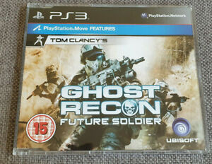 Sony-Playstation-3-PS3-Jeu-Tom-Clancy-039-s-Ghost-Recon-Future-Soldier-PROMO