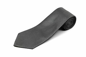 """100% Silk Extra Long Houndstooth Tie (63"""" Long)"""