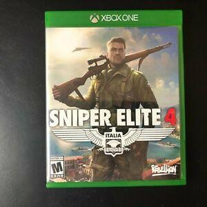 Sniper Elite 4: Italia Video Game (Microsoft Xbox One, 2017) Used & Tested