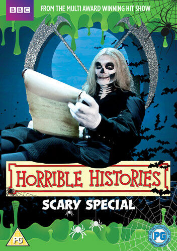 Horrible Histories: Scary Halloween Special DVD (2013) Mathew Baynton ***NEW***
