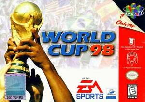 World Cup 98 N64 Great Condition Fast Shipping