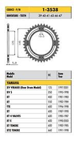 1-3538-CORONA-PASSO-520-YAMAHA-XTE-600-1990-2003