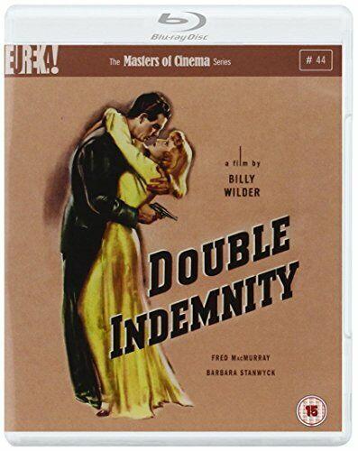 Double Indemnity [Masters of Cinema] (Blu-ray) [1944] [DVD][Region 2]