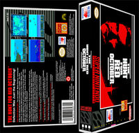 Hunt For Red October - Snes Reproduction Art Case/box No Game.