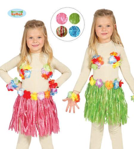 16183 GUIRCA Set hawaiana hawaii costume carnevale bambina mod